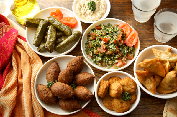 Tour the tastes of the Middle East