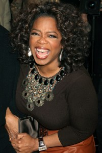 Oprah brings her power