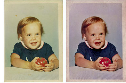 Give old photos new life