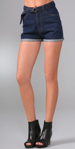 Cheap Monday Denim Short Shorts