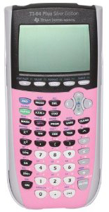 Hot Pink Graphing Calculator