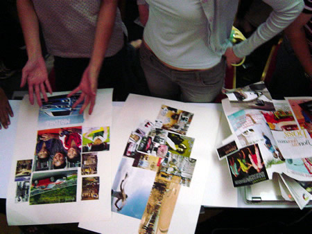 Create a vision board for school