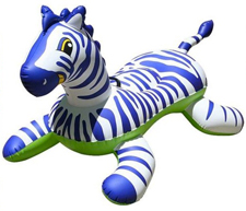 Zebra Rideable Raft