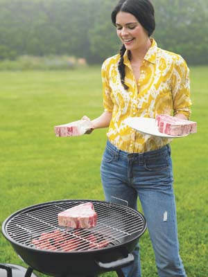 Girls can grill too!