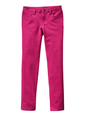 Girls pink denim Gap jeans