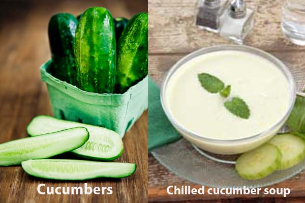 easy farmers market cucumber recipe