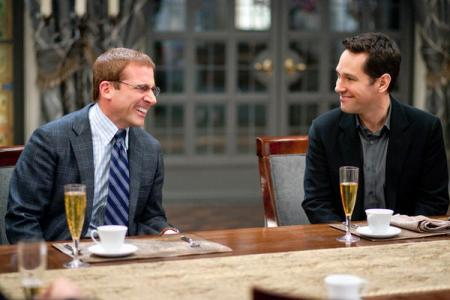 Dinner for Schmucks stars Steve Carell and Paul Rudd