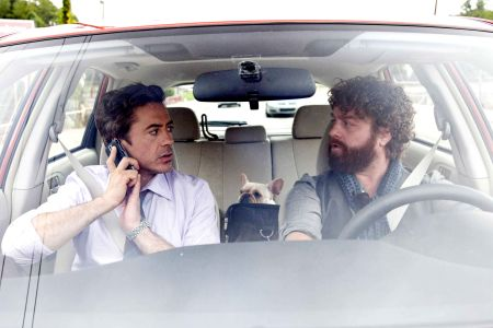Due Date stars Robert Downey Jr and Zach Galifianakis
