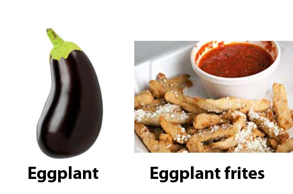easy farmers market eggplant recipe