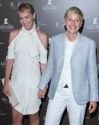 Ellen Degeneres & Portia DiRossi
