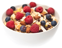 Fruit in granola