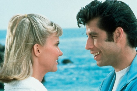 Olivia Newton John and John Travolta in Grease
