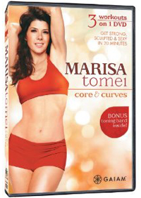 Marisa Tomei: core and curves
