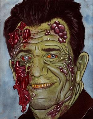 Mel Gibson zombie