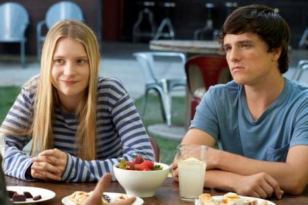 Mia Wasikowska and Josh Hutcherson in The Kids Are All Right