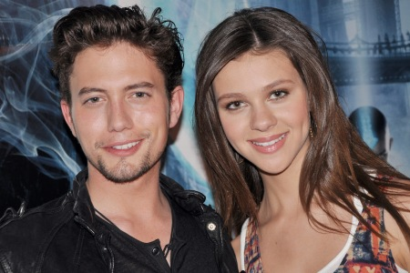 Nicola and Jackson at The Last Airbender premiere
