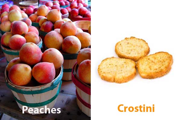 easy farmers market peach recipe