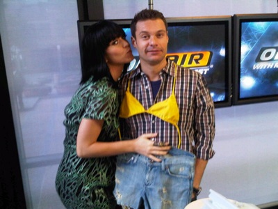 Ryan Seacrest & Katy Perry