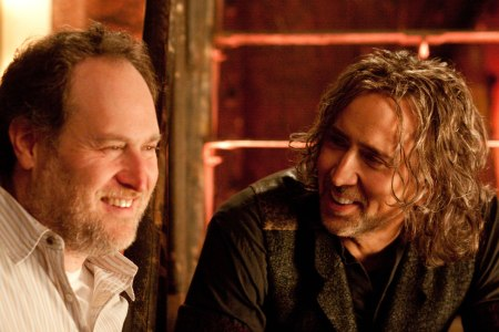 Jon Turteltaub and Nicolas Cage film The Sorcerer's Apprentice