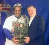 Joe Torre and George Steinbrenner
