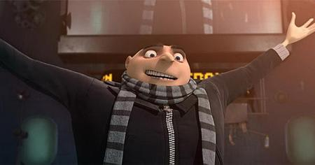 Steve Carell is Gru in Despicable Me
