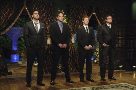 The final four men on The Bachelorette