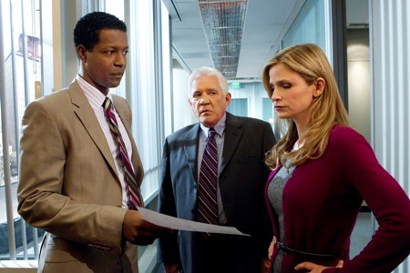 Chief Brenda Johnson (Kyra Sedgwick) readies her team on The Closer