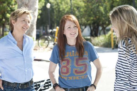 Annette Bening, Julianne Moore in The Kids Are All Right
