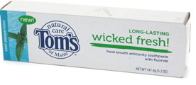 Tom's Wicked Fresh! Toothpaste