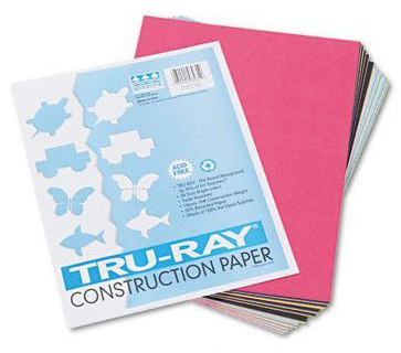 Riverside Paper Tru-Ray Recycled Construction Paper