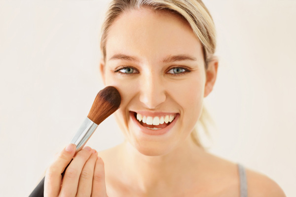 blush search for the next great makeup artist. Woman applying lush