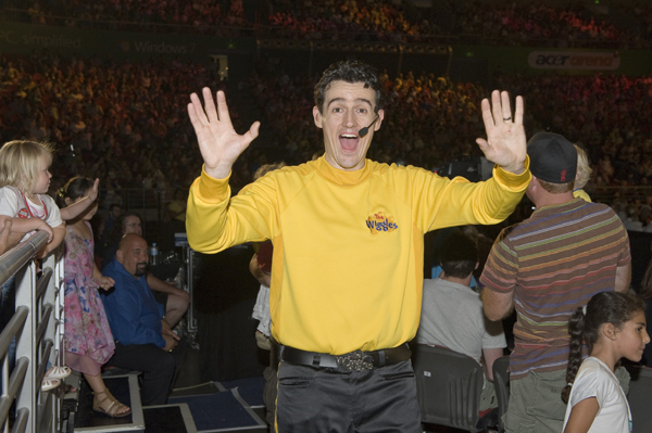 Sam Moran the Yellow Wiggle