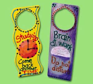 Door hanger crafts