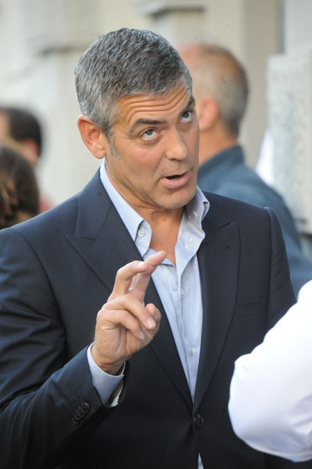 George Clooney. Photo courtesy of: SplashNews