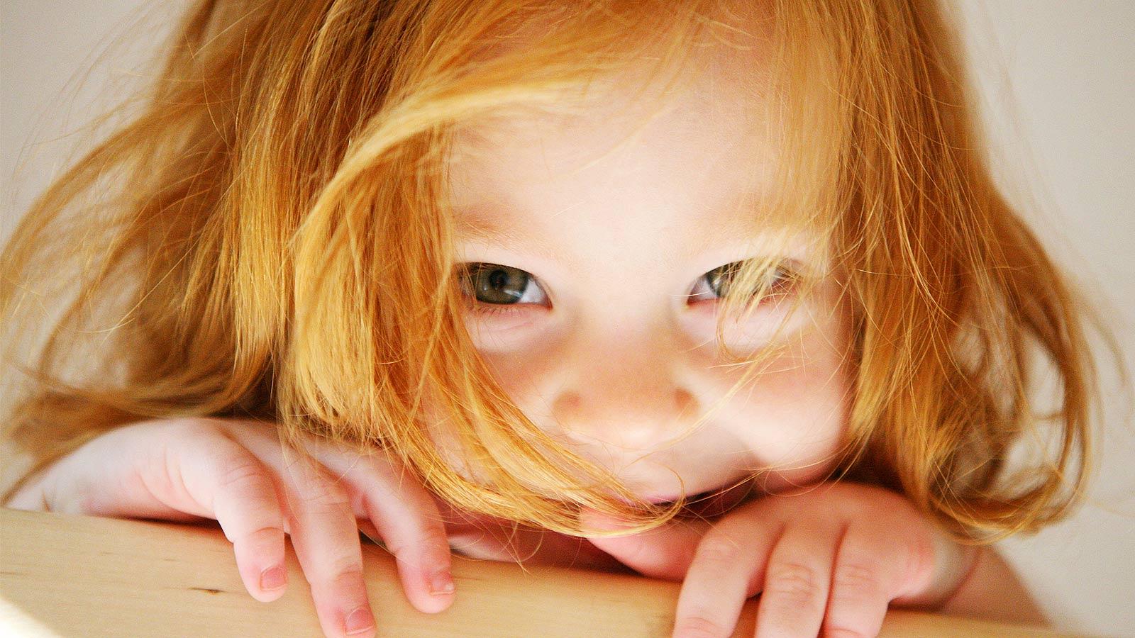 Рыжая дочь и 10 фотография