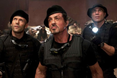 The Expendables include Jason Staham and Sylvester Stallone