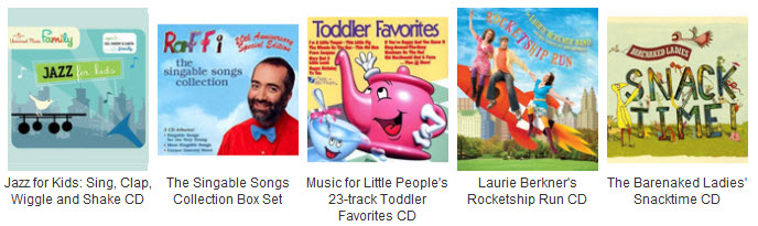 tunes for toddlers and preschoolers