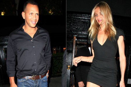 Cameron Diaz steps out with boyfriend Alex Rodriguez