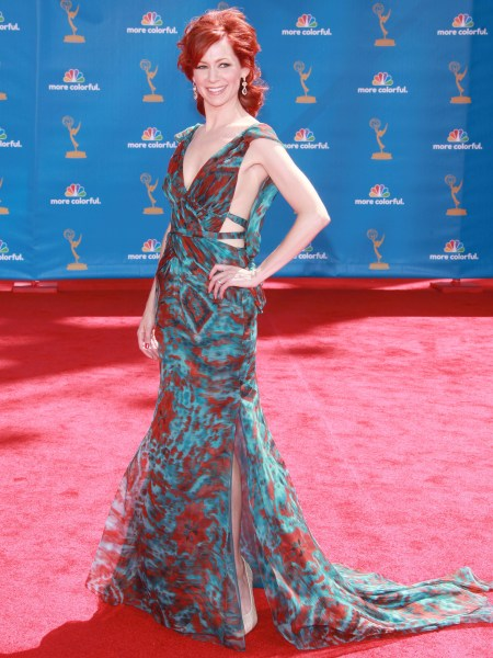 Carrie Preston at the 2010 Emmy Awards