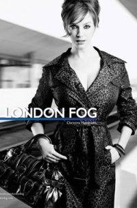 London Fog mad for Christina