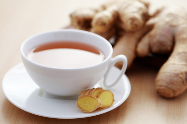 Cup of ginger thea