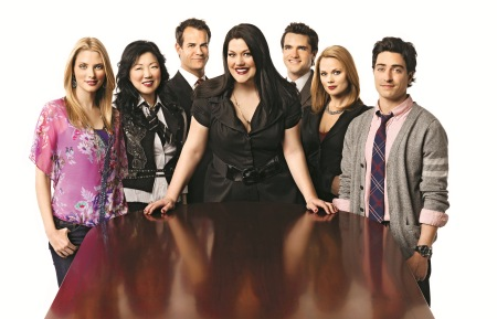The cast of Drop Dead Diva