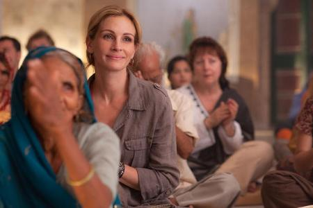 Eat Pray Love stars Julia Roberts