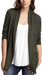 Long cardigan for layering