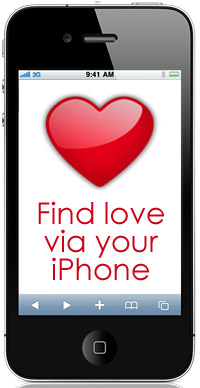 Find love via iPhone