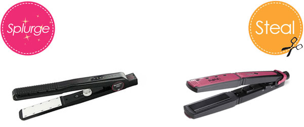 Wet-to-dry flat irons