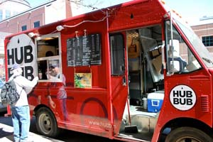 Gourmet food from a truck?