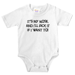 For the baby with questionable habits