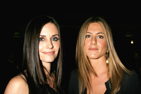 Courteney Cox and Jennifer Aniston: Together again!