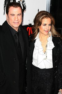 John Travolta and Kelly Preston